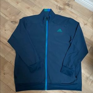 Adidas Barricade Climalite Mens Jacket Sz XL